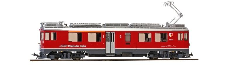 Berninatriebwagen Tirano ABe 4/4 53 der RhB, DC, Spur H0m