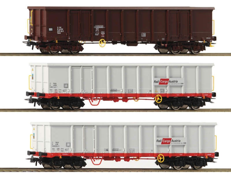 Güterwagen-Set 3-tlg. Eanos ÖBB H0