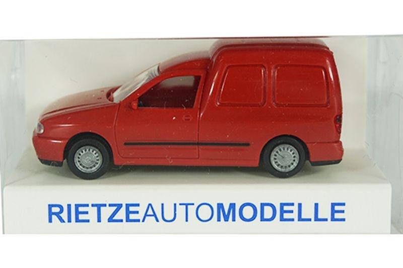 Volkswagen Caddy Kastenwagen, rot, 1:87 / H0