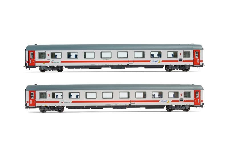 2er-Set, Reisezugwagen 2.Kl. Gran Confort 85 der FS, DC, H0