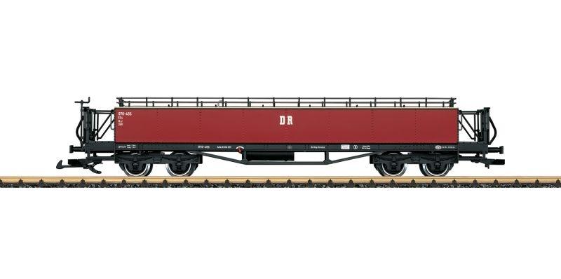 Aussichtswagen Bauart KS4 der Pressnitztalbahn, Spur G