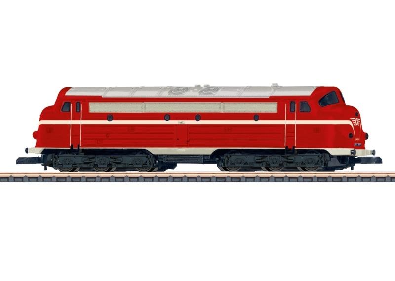 Diesellokomotive Reihe M61 der MAV, Spur Z