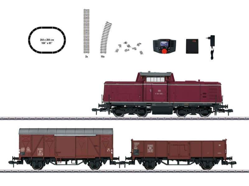 Digital-Startpackung Güterzug V 100 DB Spur 1