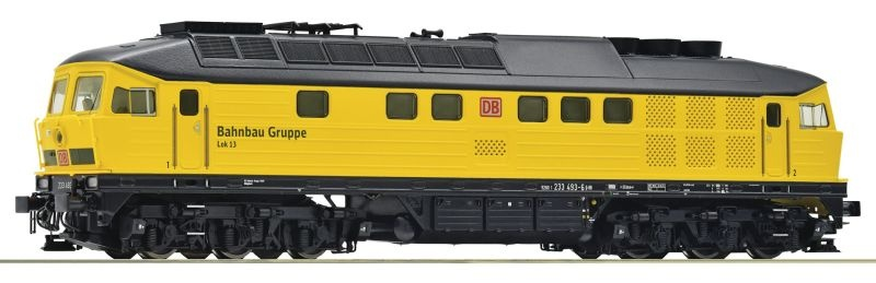Diesellokomotive 233 493, DB AG, Bahnbau, Sound, AC, Spur H0