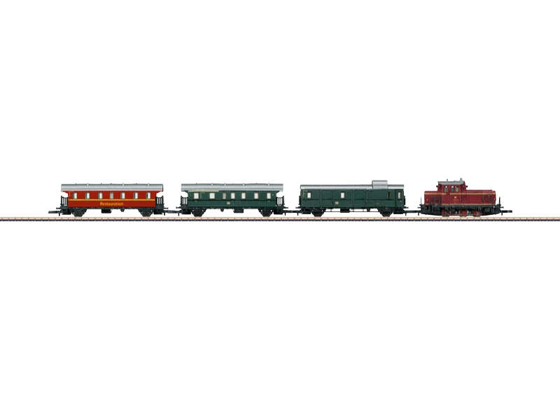 Startpackung Museums-Personenzug V 60 mit 3 Wagen Spur Z