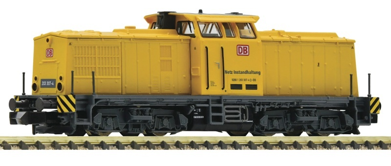 Diesellokomotive BR 203 der DB AG Spur N