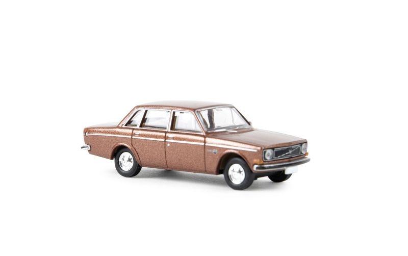 Volvo 144, braun-metallic, TD, Spur H0