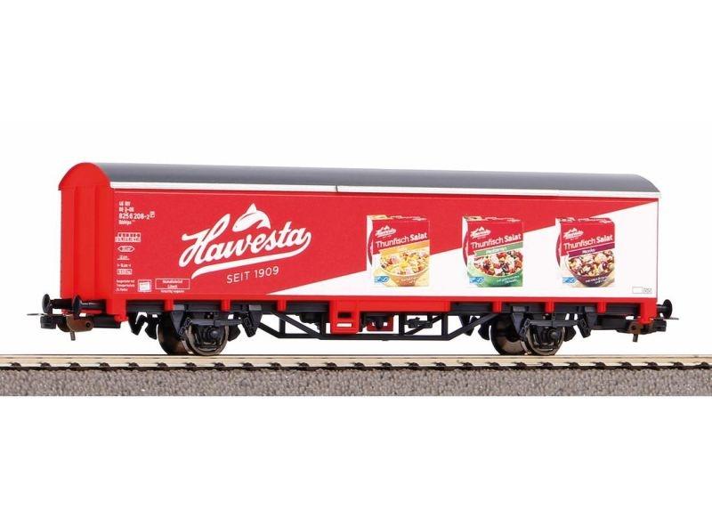 Gedeckter Güterwagen Hawesta-Fisch der DB AG, Ep. VI, H0