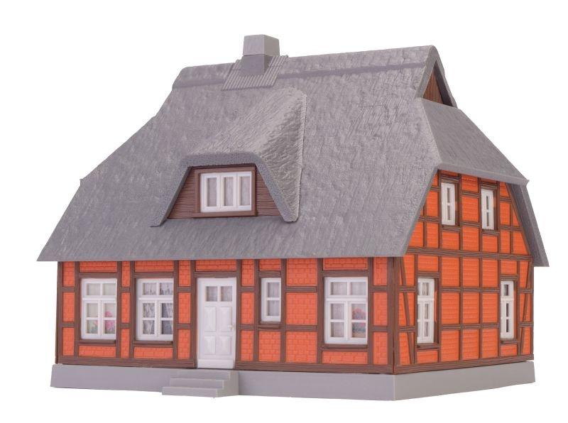 Reetdachhaus Heike, Bausatz, Spur H0