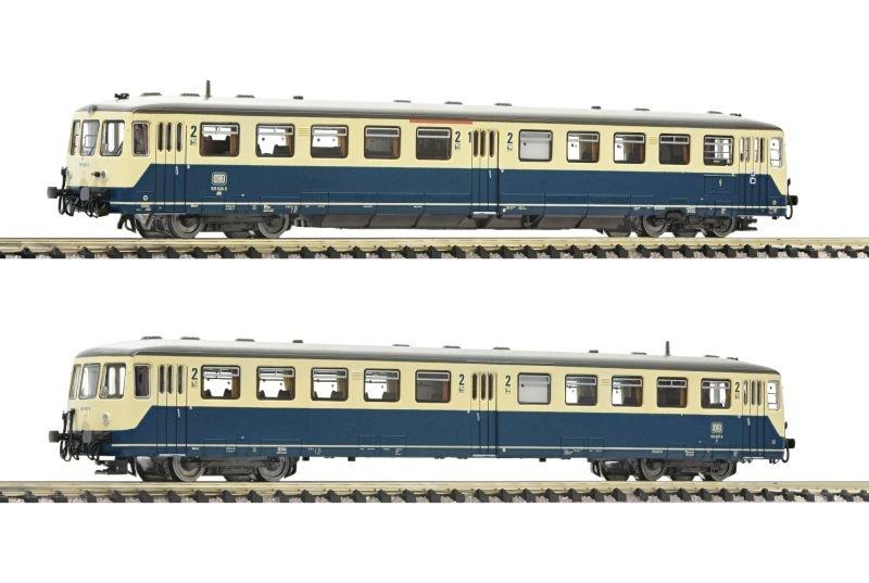 Akkutriebwagen BR 515 mit Steuerwagen, DB, Sound, Spur N