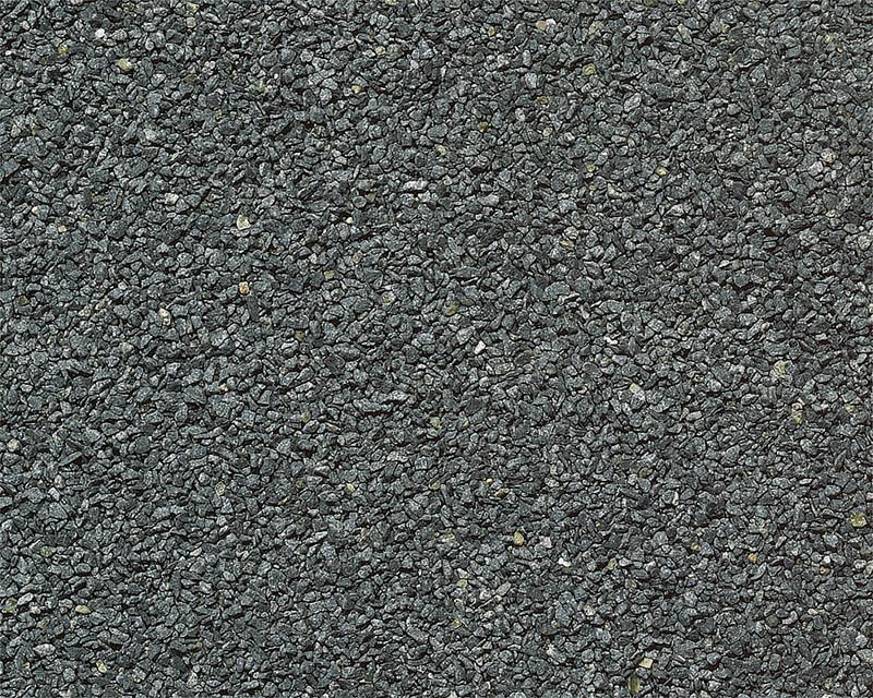 PREMIUM Gleisschotter, Naturmaterial, dunkelgrau, 650 g H0