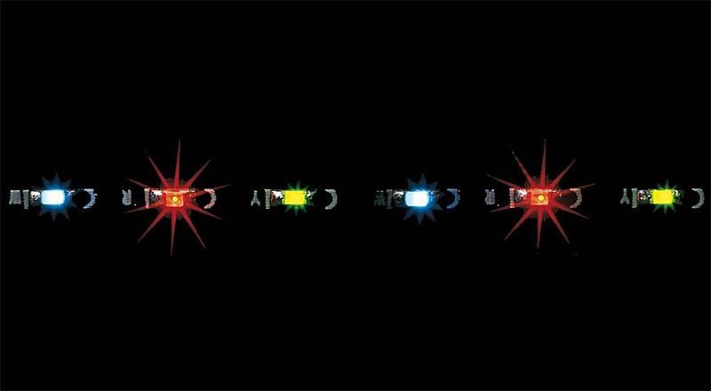 LED-Lichterkette mit 30 LEDs, 12 - 16 V