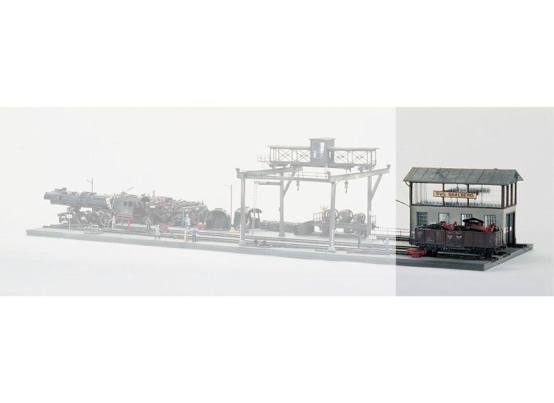 Lok-Ausbesserungswerkstatt, Bausatz, Spur H0