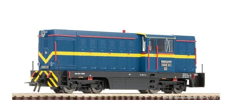 Diesellok 2099.01 blau der ÖGLB, Spur H0e