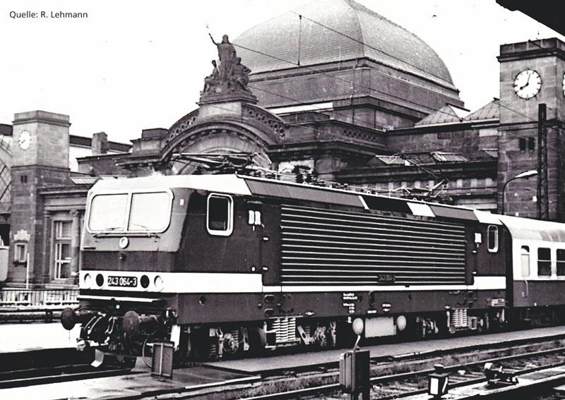 Sound-E-Lok BR 243 der DR, Ep. IV, DC, Spur H0