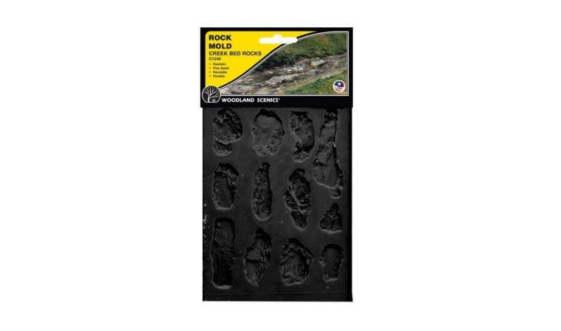 Rock Mold - Gießform Bachbett