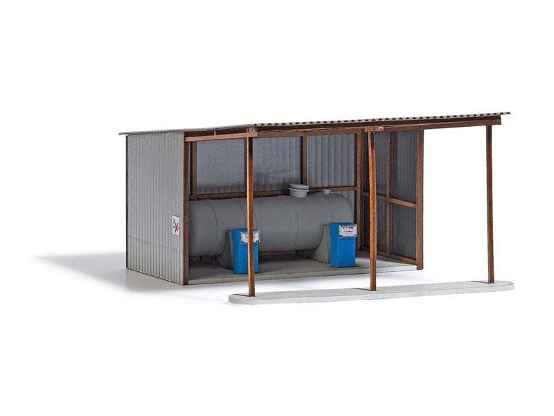 LPG Tankstelle Bausatz, Spur H0