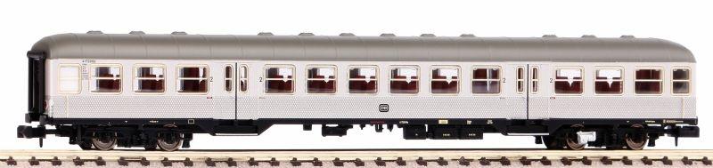 Personenwagen Silberling 2. Klasse der DB, III, Spur N