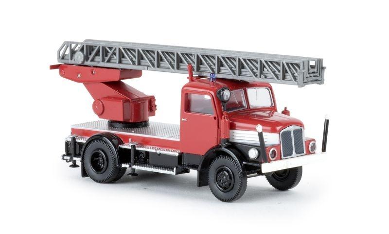 IFA S 4000-1 DL 25 rot/schwarz/weiß, TD, Spur H0