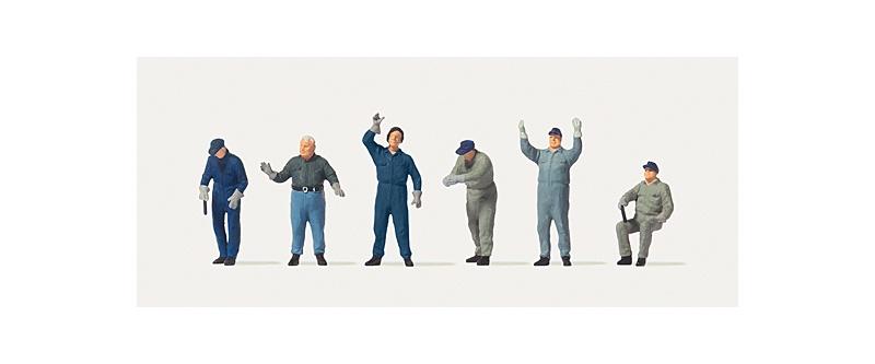 Verladearbeiter Figuren, 1:87 / Spur H0