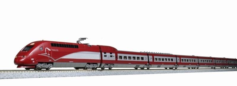 Triebzug TGV Thalys PBKA 10-tlg. Ep.VI, neues Design, Spur N