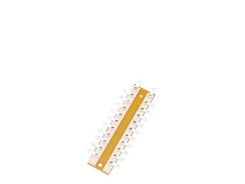 Verteiler-Lötösenplatte, 10-fach