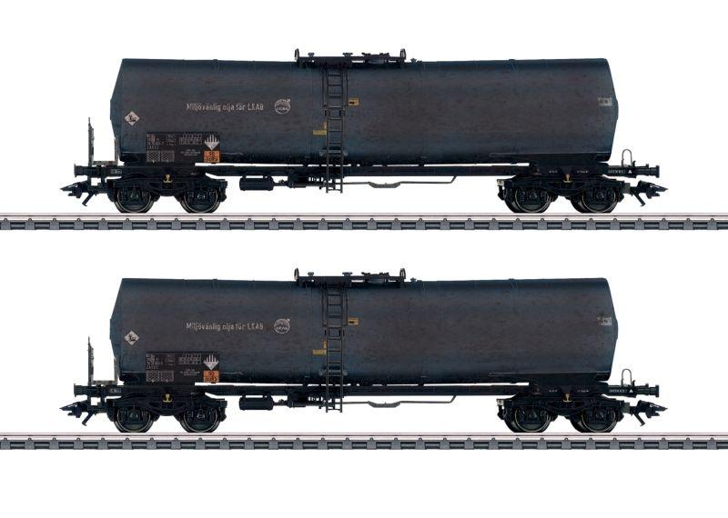 Kesselwagen-Set der Green Cargo, AC, Spur H0