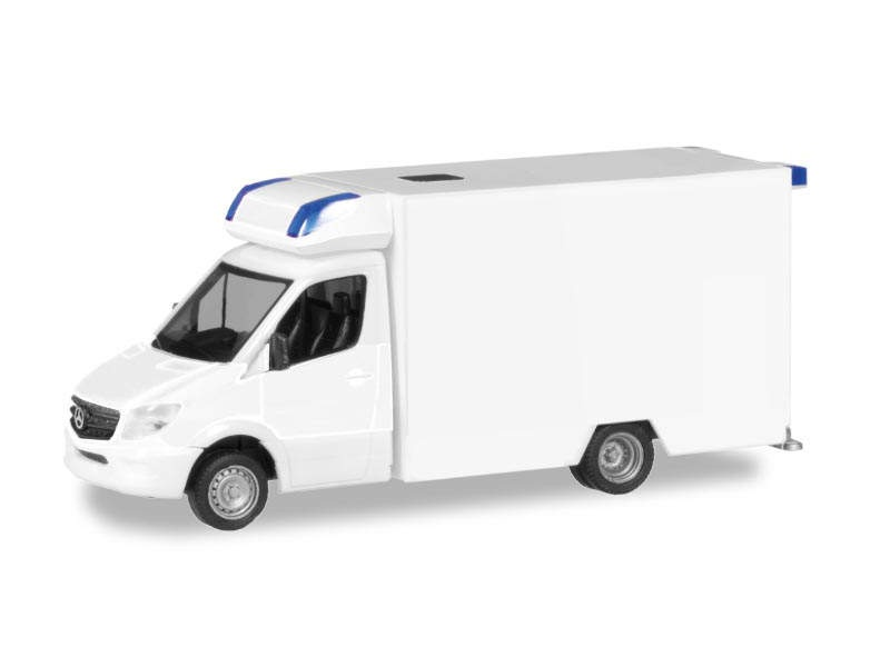 MiniKit Mercedes-Benz Sprinter Fahrtec RTW, weiß, 1:87 / H0