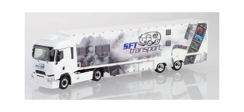Renault T Koffer-Sattelzug SFT Transporte, 1:87 / H0