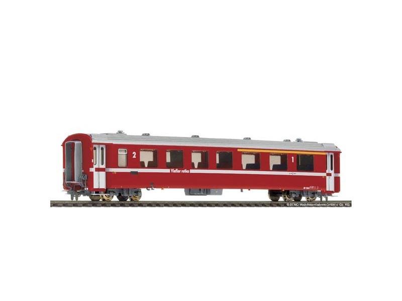 Einheitswagen II AB 1565 rot der RhB, Spur H0m
