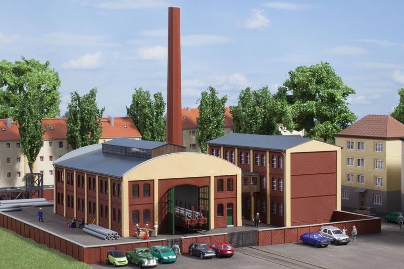 Fabrikgebäude, 2 Stück, Bausatz, Spur N