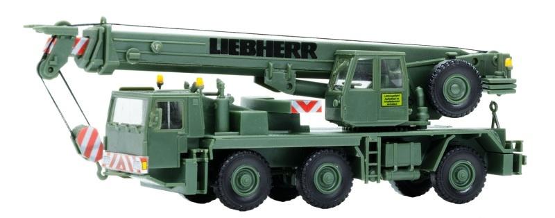 Bundeswehr LIEBHERR Mobilkran LTM 1050/3, Spur H0