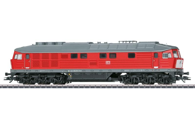 Diesellokomotive BR 232 der DB, mfx, DCC, Sound, AC, Spur H0