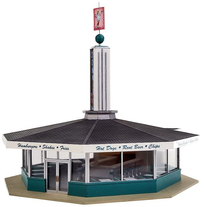 Donnies Drive-In, Bausatz, Spur H0