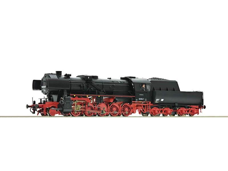 Dampflokomotive 52 5354 der DR, DC, Spur H0