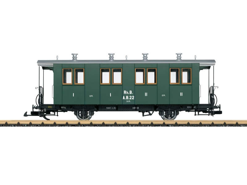 RhB Personenwagen 1./2.Kl. AB 22 Spur G