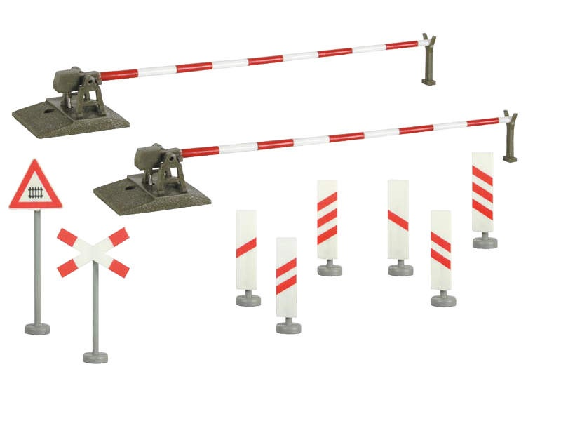 Bahnschranke, vollautomatisch, Spur N