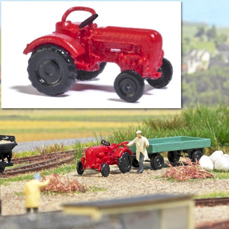 Traktor Junior, Spur N