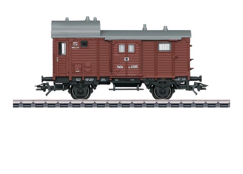 Güterzug-Gepäckwagen zur T3 der KPEV, AC, Spur H0
