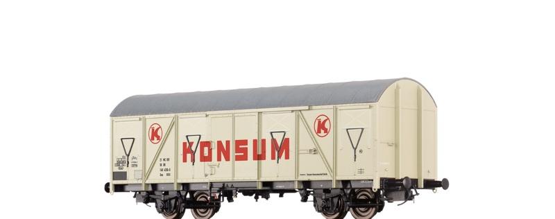Gedeckter Güterwagen Gos 1404 Konsum der DR, DC, Spur H0