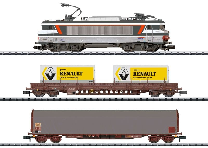Digital-Startpackung Güterzug, Minitrix Spur N