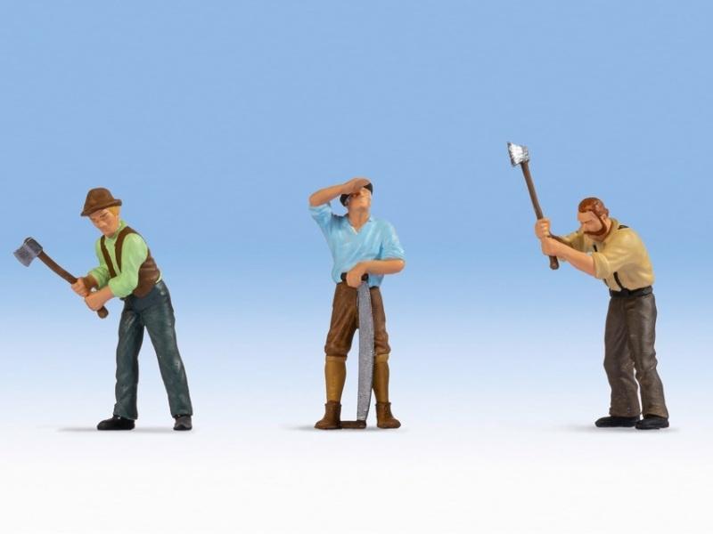 Holzfäller Figuren, Spur 0