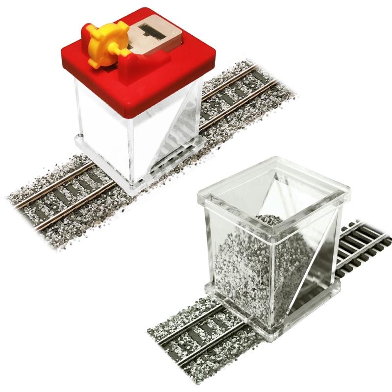 Schotterkleber-Applikator mit Spritze & Schotterverteiler, N