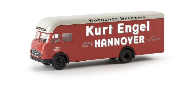 MB LP 322 Möbelwagen Kurt Engel, Spur H0