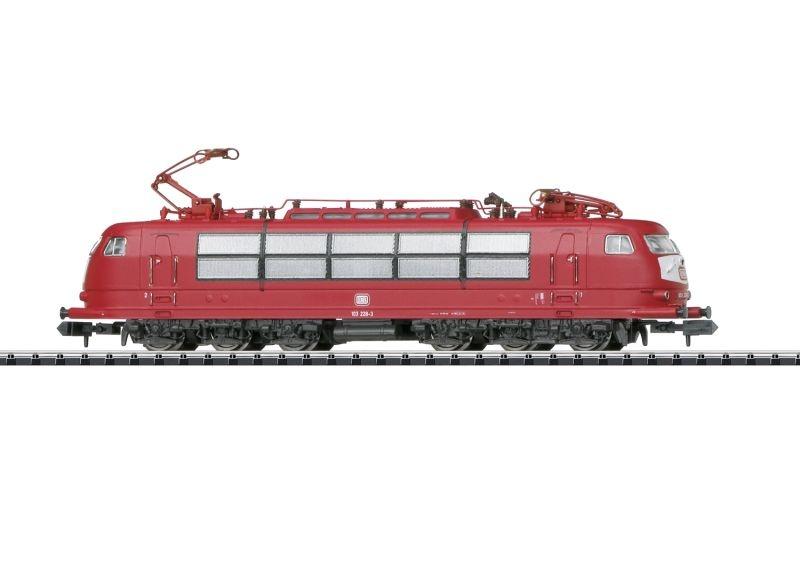 Elektrolokomotive 103 228-3 der DB, Mintrix Spur N