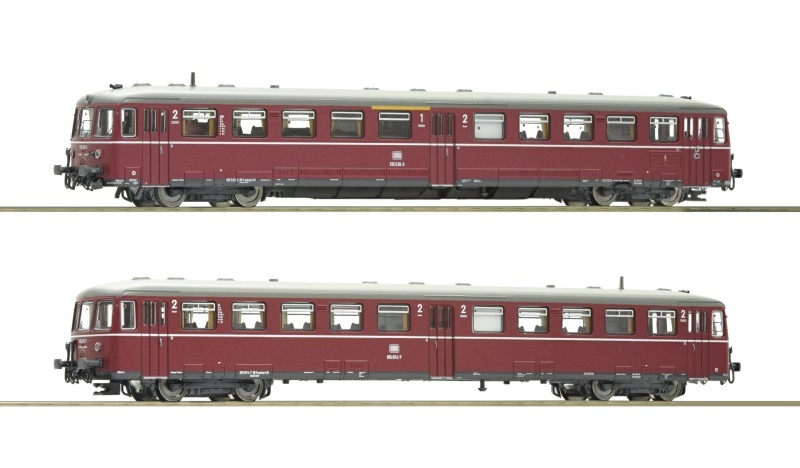 Akkutriebwagen BR 515 mit Steuerwagen, Sound, DB, Spur N