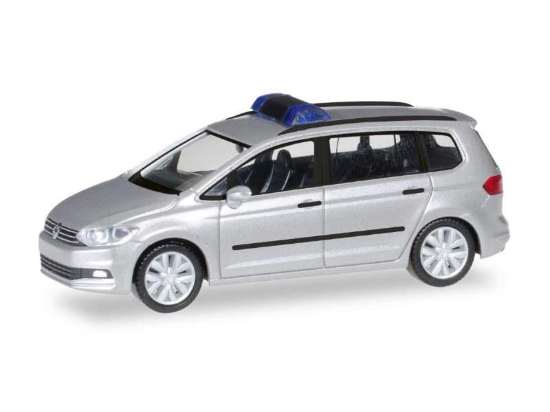 MiniKit: VW Touran, silber, 1:87 / H0