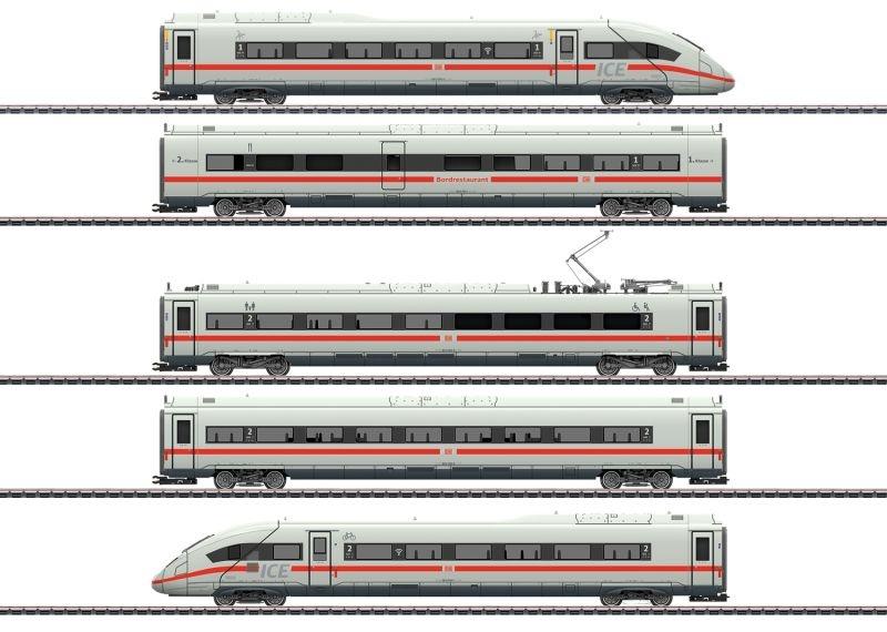 Triebwagenzug ICE 4 Baureihe 412/812, Sound, mfx+, AC, H0