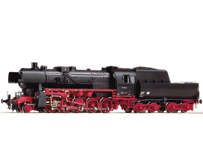 Dampflok BR 52 der DR, Henning-Sound, AC, Spur H0