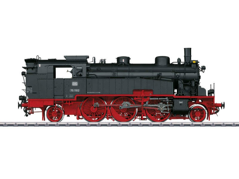 Tender-Dampflokomotive BR 75.4 10-11 DB Sound mfx Spur 1